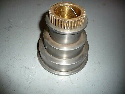 3 Step Head Stock Cone Pulley With Gear For Early South Bend Heavy 10 Lathe
