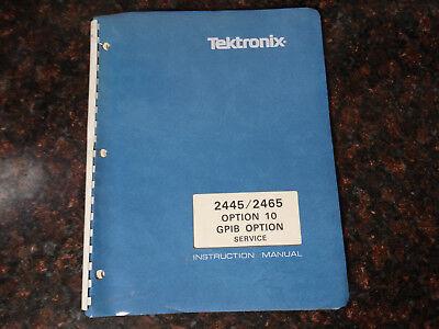 Tektronix 2445 2465 Instruction Manual