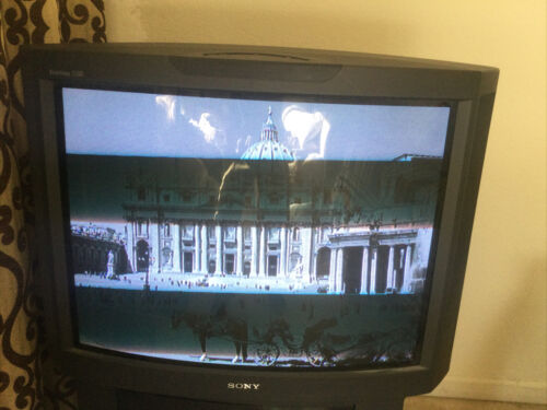 Sony Trinitron XBR KV-32XBR45 32 CRT TV Television In Ext Condition With Remo - $50.00