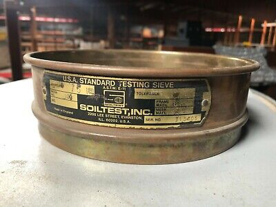Soiltest 8 Diameter Usa Standard Testing Sieve Mesh No 200 Aperture 75 M
