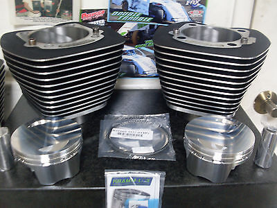 HARLEY TWIN CAM 107 KIT OEM CYLINDERS CP BULLET PISTONS DROP IN KITS