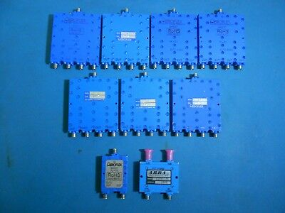 Aeroflex 2 4 Way In-phase Power Divider Combiners Lot Of 9