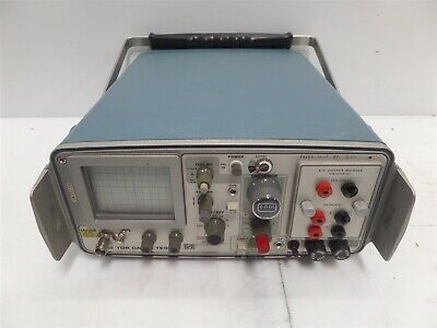 Tektronix 1502 Tdr Cable Tester With 016-0606-00 X-y Output Module- As Is
