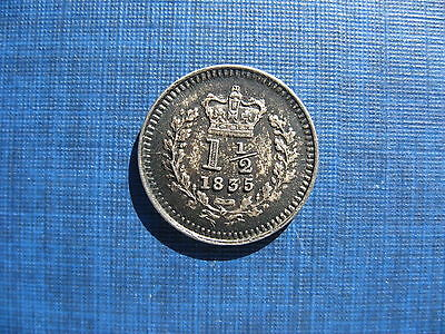 William IV Threehalfpence 1835. Nice Grade,