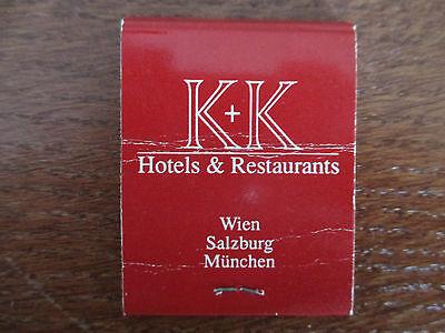 1altes Streichholzbriefchen , .K+K gebraucht kaufen  Annaberg-Buchholz