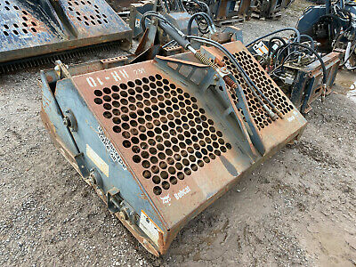 Used 72 Bobcat Lr6b Rockhound Landscape Rake Skid Steer Attachment