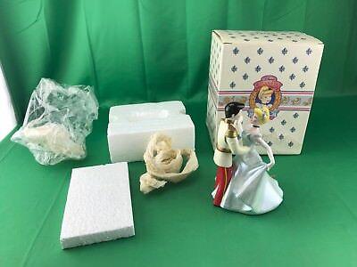 Schmid Disney Cinderella and Prince Charming Porcelain Music Box