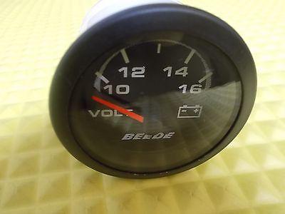 Beede Voltmeter Gauge