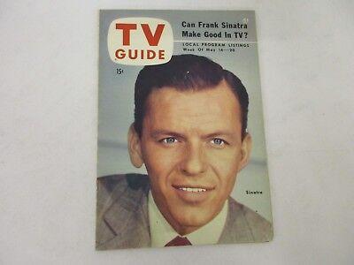 Vintage 1954 TV Guide Frank Sinatra Ole Blue Eyes VERY RARE