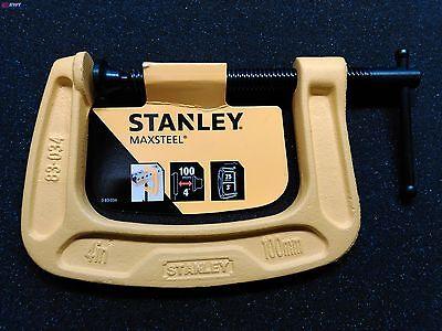 """Stanley 0-83-034  Maxsteel®  """"C"""" Zwinge  100 mm   83-034"""