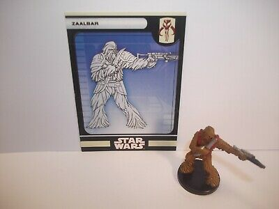 Star Wars Miniatures - Zaalbar 53/60 - Rare - KOTOR