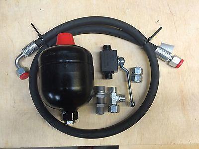 Neues Dämpfungsystem für einfachwirkenden Frontlader 0,5L mit Einbauanleitung