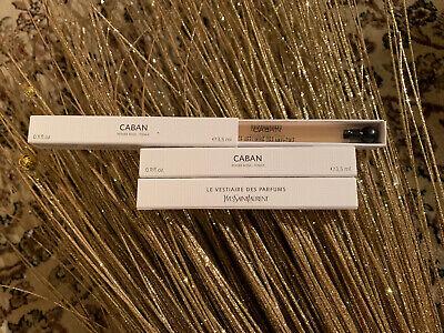 YSL Yves Saint Laurent Le Vestiaire des Parfums Caban Fragrance Samples