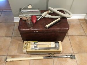 Vintage Electrolux  Vacuum Cleaner and Storage Trunk