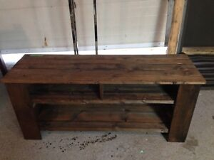 Customs crafted TV Stand