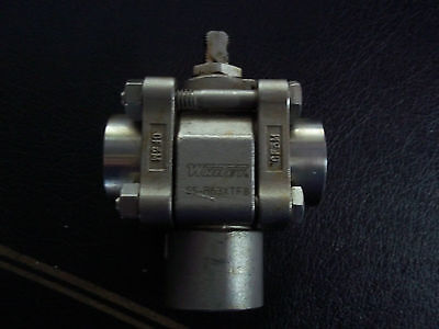 Whitey Ss-r63xtf8 12 Npt 3 Way Rapid Cycle Valve Stainless Steel