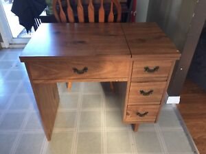 Not wood sewing desk