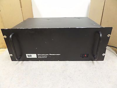 Wilcoxon Research Power Amplifier Model Pa8-2 Mod