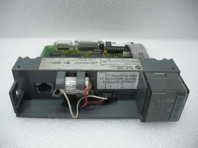 Allen Bradley Slc 500 Processor Unit 1747-l524