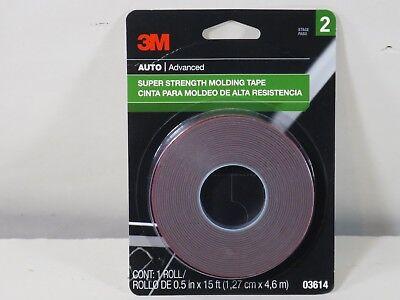 3m-03614 Super Strength Scotch Mount 12 X 15 Ft Molding Tape 3m-03614