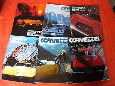 1977 Corvette News Magazines Complete Volume 20 Options Specs Aluminum Wheels