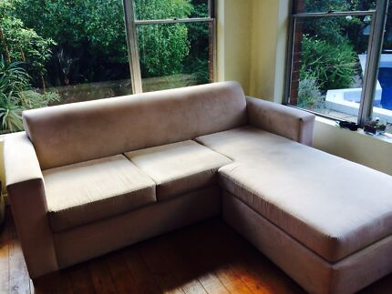 Small Beige Lounge for Sale Beverly Hills Hurstville Area Preview
