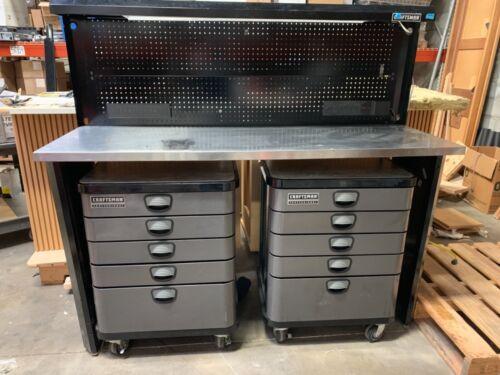 Craftsman Professional storage solutions 2x five door mobile cabinet