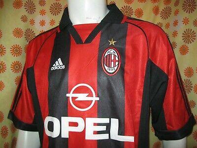 9283ca29f Ancien MAILLOT ADIDAS AC MILAN ACM OPEL #3 L Jersey Maglia Camiseta Italy  Calcio