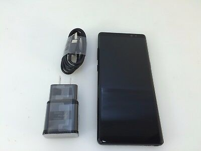 Samsung Galaxy Note 8 SM-N950U 64GB Midnight Black Verizon Unlocked Smartphone