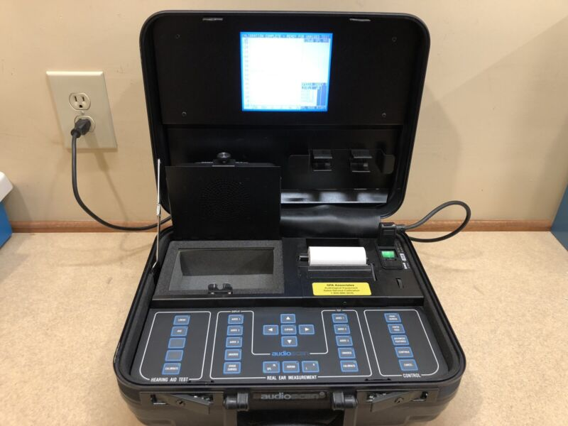 Audioscan RM500 Portable Hearing Aid Analyzer w/ NEW Calibration Certificate