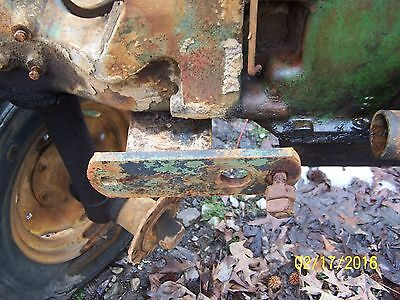 Jd John Deere Mt Tractor Cultivator Bracket Mounts Under Front Support