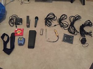 Electric Guitar Pedal & Accessory Lot