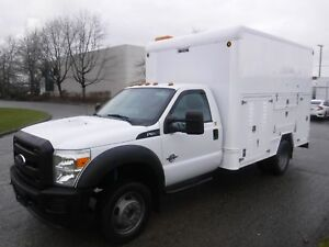 2012 Ford F-550 Regular Cab Dually 2WD Diesel Service Box