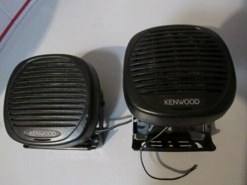 Lot of 2  Kenwood KES-5 40 Watt External Two Way Radio Speaker cb/ham radio
