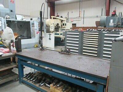 Used Flexarm Pneumatic Tapping Arm 916 Capacity 14 Holders On A Benchdp