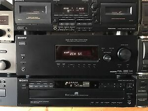 Sony Receiver and CD Player