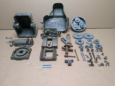 Vintage Sears Roebuck Craftsman 6 Metal Lathe 109.20630 Parts Only As Is