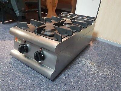 Baron Gasherd mit 2 Kochstellen, Leistung 10,5kW, Tischgerät ()
