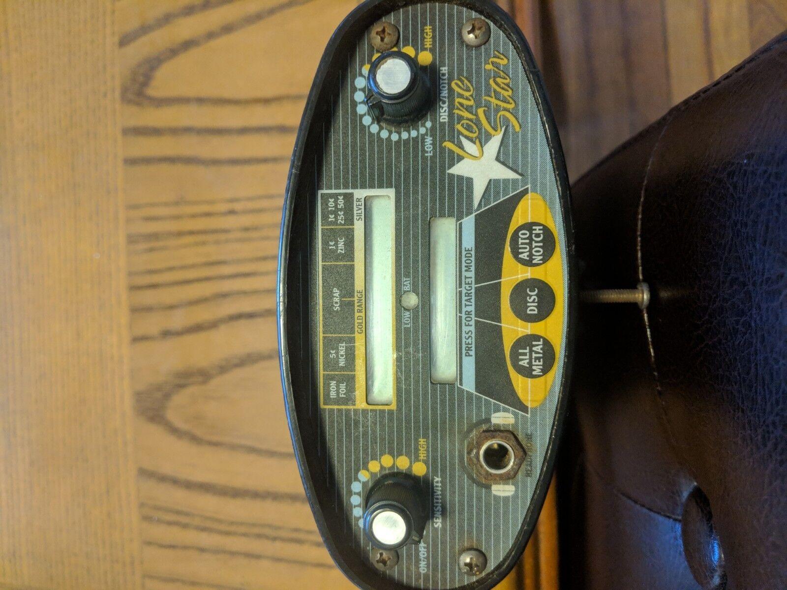 Lone Star Bounty Hunter Metal Detector