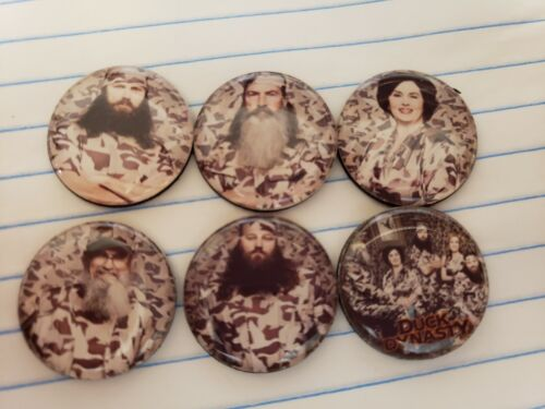 Set Of 6 I Inch Duck Dynasty Magnets  - $0.60