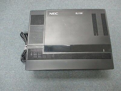 Nec Sl1100 Ksu Ip4na-1228m-b 1100010 Main Cabinet 0 X 8 X 4 Config No Processor