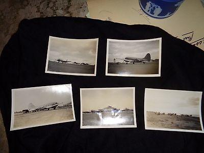 World War II photograph(5): U.S. Planes on Guam 1944-45;Original  photos