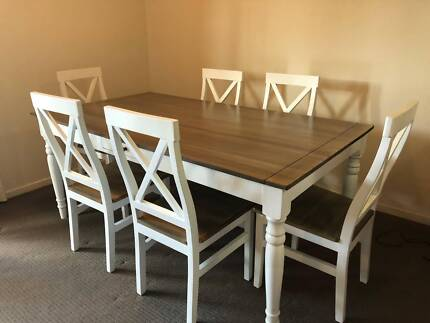 Solid Mango Wood Table And Chairs