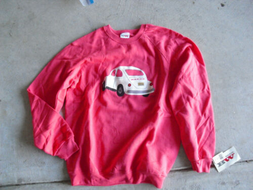 Vintage 1980s Dairy Queen Signed LE Art Sweatshirt Volkswagen 18/36 Size L NWT
