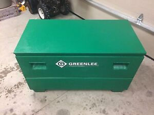 Green lee box like new