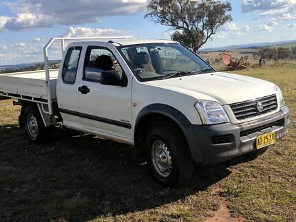 2005 Holden Rodeo Ute - Space Cab - Dual Fuel LPG