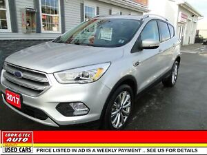 2017 Ford Escape Titanium/AS LOW AS $99.00 A WEEK