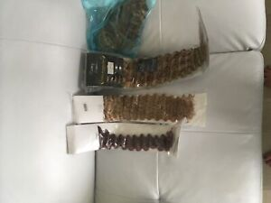 Heat and adhesive long curly hair extensions - real hair