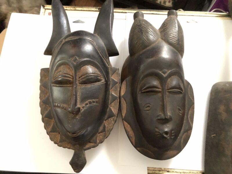 african masks 3-pieces