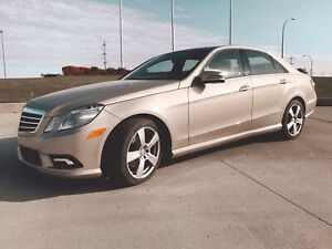 2010 Mercedes-Benz E350 4Matic   ONLY 60,000 KM   NO ACCIDENTS
